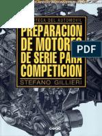 Mpreparacon de motores de serie para competicion