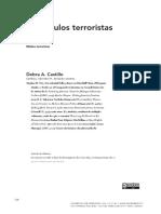 """Debra  Castillo, """"Minúsculos terroristas"""""""