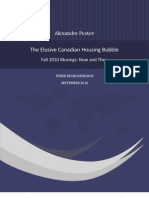38509625 the Elusive Canadian Housing Bubble Fall 2010 Musings