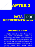 3 Data Representation