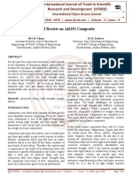 Brief Review on Al6351 Composite