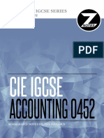 Cie Igcse Accounting 0452 Znotes
