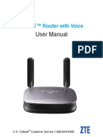 ZTE 4G LTE Router