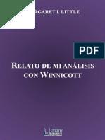 Relato de Mi Analisis Con Winnicott