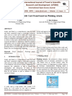 A Survey on Credit Card Fraud based on Phishing Attack