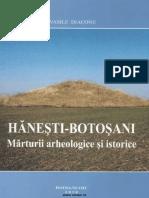 Vasile Diaconu Hanesti Botosani Marturii Arheologice Si Istorice 2010