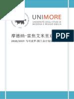 摩德纳大学2018语言班介绍文件