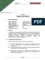 Silabo Administracion Pnp 2016