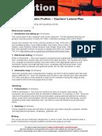 Air Traffic Controller Profiles Teachers Lesson Plan