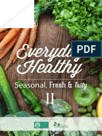 Everyday Healthy - Seasonal, Fresh & Tasty Downloadable Cookbook - 2015