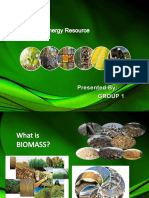 BIOMASS 2018 Renewable Energy Resource