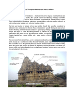 History of Temples of Historical Places Odisha