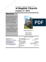 Sunday October 3 1010 Bulletin in Word (iPaper)