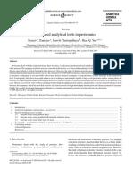Advanced tools in proteomics
