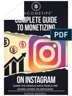 IncomeTips Complete Guide to Monetize Instagram