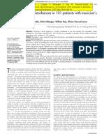 Rosset-Llobet 2007 Distonia 101 Afeccions Secundaries