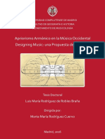 Apriorismo Armónico en La Musica Occidental - Luis Rguez de Robles