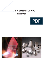 What is a Buttweld Pipe Fitting