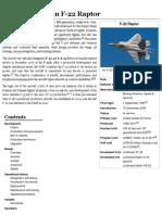 Lockheed Martin F-22 Raptor - english