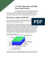 Photovoltaics Basics
