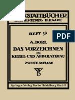 [Arno Dorl (Auth.)] Das Vorzeichnen Im Kessel- Und
