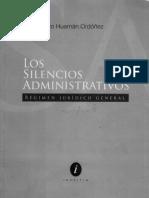 Los Silencios Administrativos (Luis a. Huaman Ordoñez)