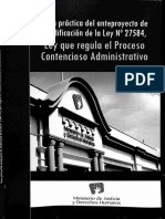 Ley Que Regula El Proceso Contencioso Administrativo (Minjus)