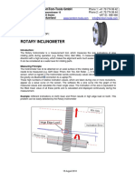 Rotary Inclinometer Product Description