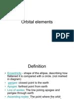 Orbital Elements ion