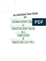 2ND YEAR-Coronary Artery Disease Related to DM( IHM- Mrs. Cordenillo