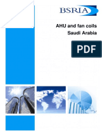 Saudi Arabia Ahu World Market for Air Conditioning 2014 (Sample)