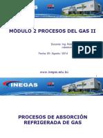 Módulo 4 e Proceso Absorcion Refrigerada
