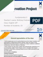 Teacher Observation Fundamentos 2
