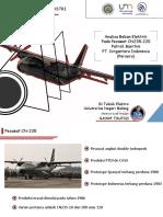 Presentasion - Electrical load CN-212 aeroplane of Indonesian Aerpspace (IAe) By Ilham Taufiqi