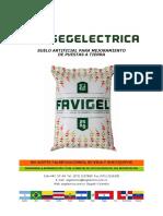 Ficha Técnica Favigel2013