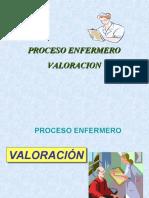1ª ETAPA. VALORACION