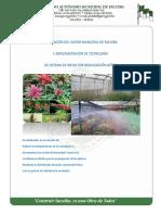 Perfil de Proyecto para mejorar el sistema de agua en viveros