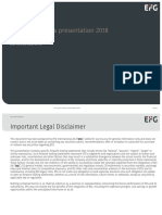 EFGI 2018 Half Year Results Presentation