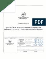 366 PR CAÑ 05 Rev 1 Aplicación Adhesivo Cañerias PVC-CPVC