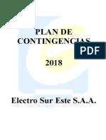 Plan de Contingencias ELSE 2018