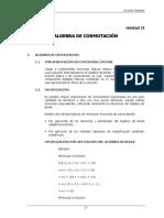 2.- Algebra de Conmutación