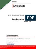 Cortina Epon Olt(Fd1104s,Fd1104sn,Fd1108s,Fd1104b,Fd1104y)Configuration Guide--V1.2 20160425
