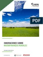 Innovaciones en Microfinanzas Rurales Informe Transversal - 2105 FOMIN - COPEME
