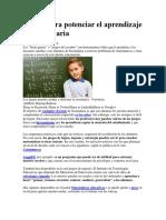 Juegos Para Potenciar El Aprendizaje en Secundaria