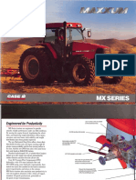Case IH MX 135 Series Brochure