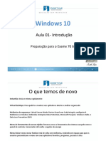 1 Introdução Ao Windows 10