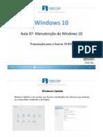 7 Manuten o Do Windows 10