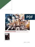 Shingeki No Kyojin - Terra Devastada