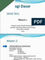 GD 2 Bumi-proses
