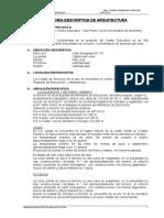 MEMORIA DESCRIPTIVA - ARQUITECTURA.doc